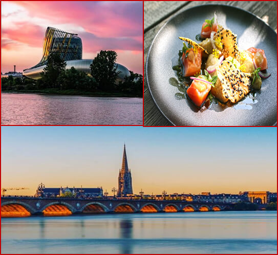 Bordeaux Business Travel - Agence de voyages - Visite Cité du vin + Viste de bordeaux